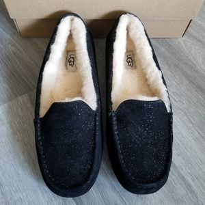 f4ce42e0fff UGG Ansley Milky Way Suede Slippers. NWT
